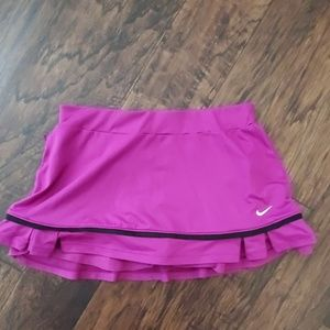 Nike Dri- fit Tennis Skirt Skort size Small